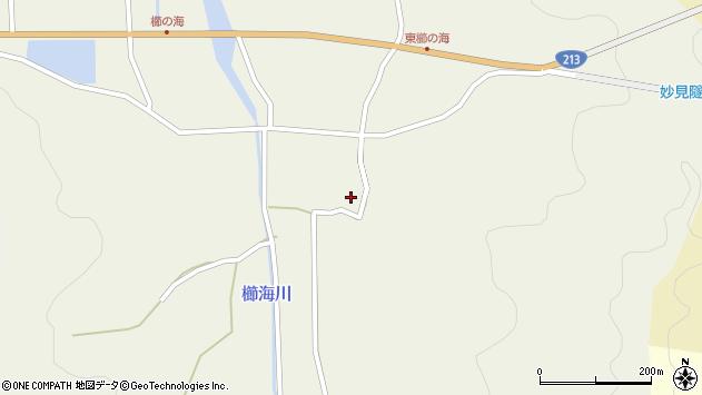 大分県国東市国見町櫛海406周辺の地図