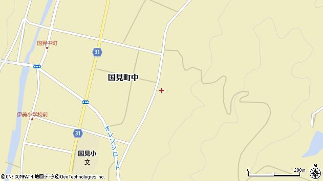 大分県国東市国見町中373周辺の地図