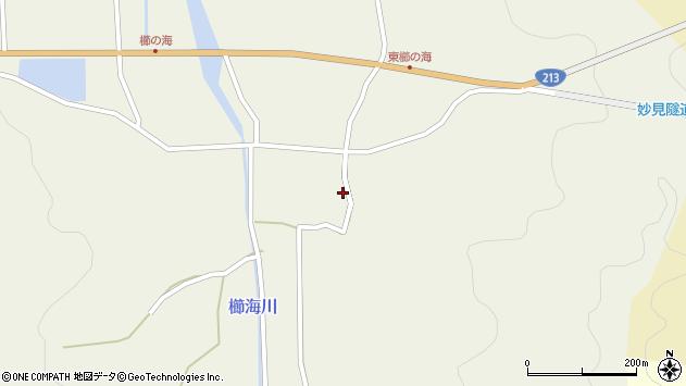 大分県国東市国見町櫛海403周辺の地図