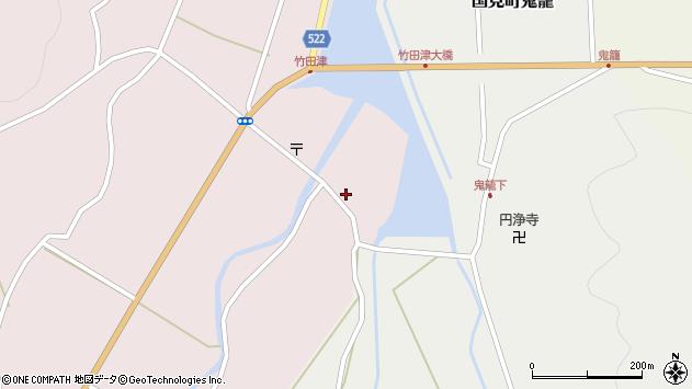 大分県国東市国見町竹田津3602周辺の地図