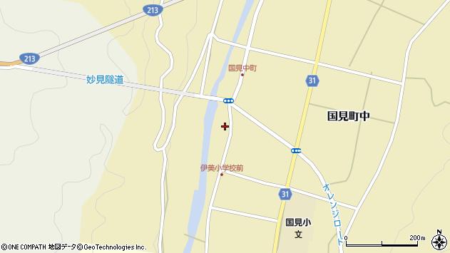 大分県国東市国見町中1012周辺の地図