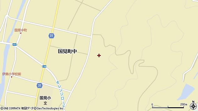 大分県国東市国見町中463周辺の地図