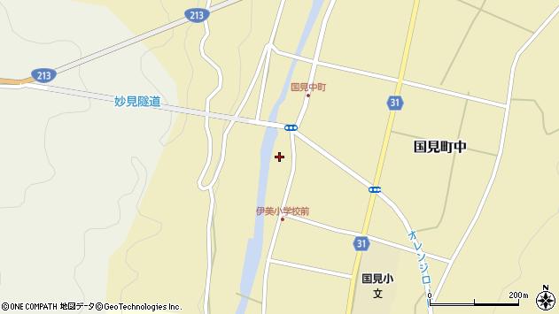 大分県国東市国見町中1011周辺の地図
