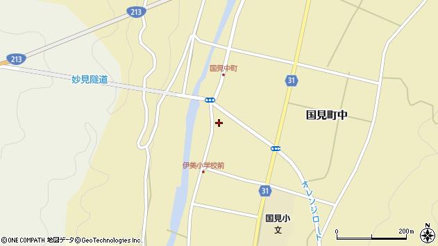 大分県国東市国見町中1014周辺の地図