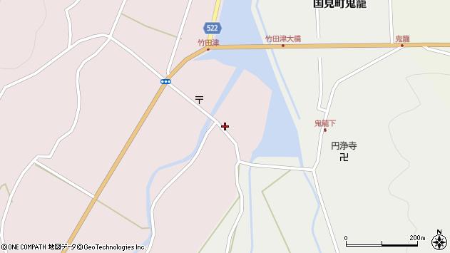大分県国東市国見町竹田津3603周辺の地図