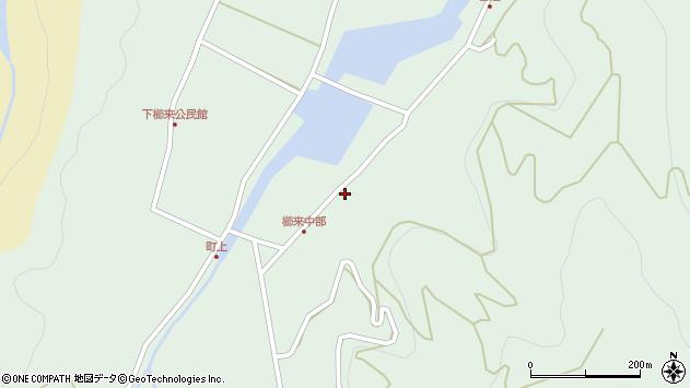 大分県国東市国見町櫛来3486周辺の地図