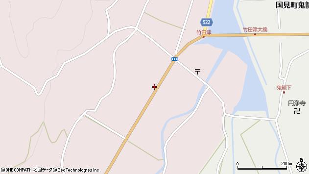 大分県国東市国見町竹田津3569周辺の地図