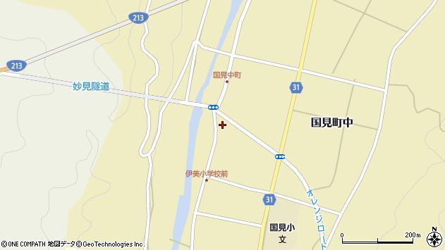 大分県国東市国見町中1020周辺の地図
