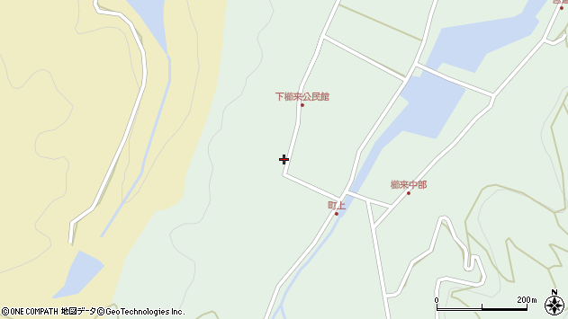 大分県国東市国見町櫛来407周辺の地図
