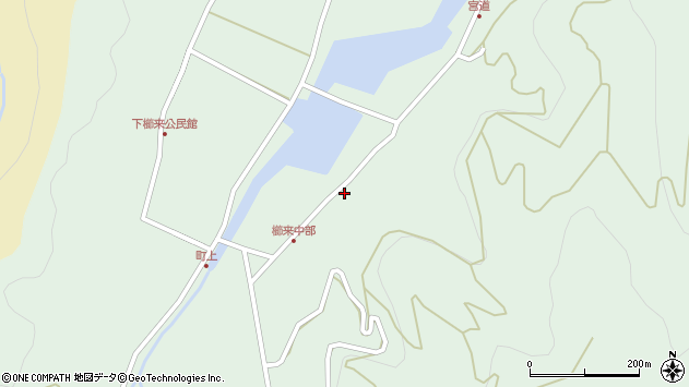大分県国東市国見町櫛来3684周辺の地図