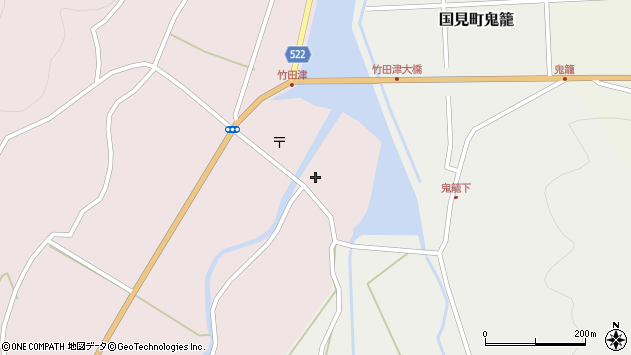 大分県国東市国見町竹田津3613周辺の地図