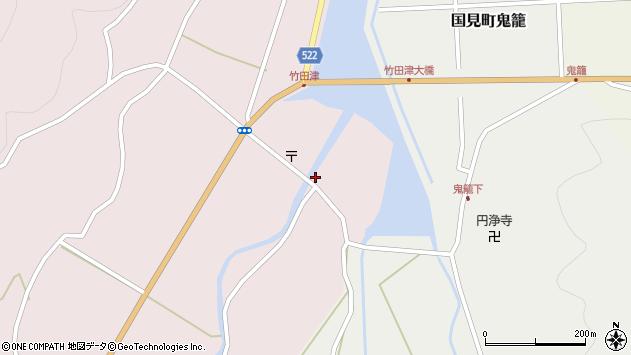 大分県国東市国見町竹田津3615周辺の地図