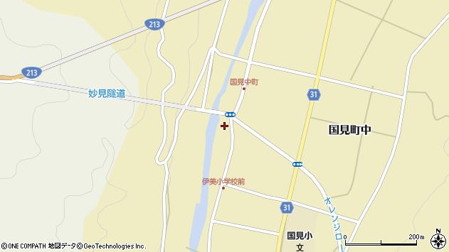 大分県国東市国見町中1019周辺の地図