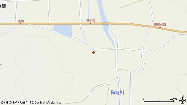 大分県国東市国見町櫛海2038周辺の地図