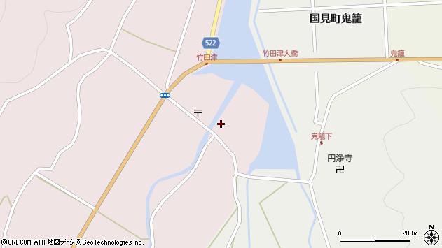 大分県国東市国見町竹田津3612周辺の地図