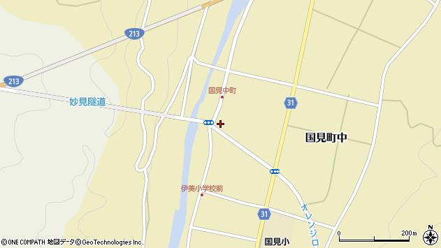 大分県国東市国見町中1027周辺の地図