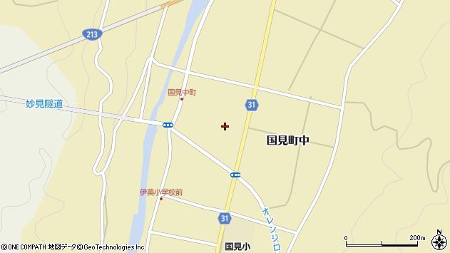 大分県国東市国見町中1088周辺の地図