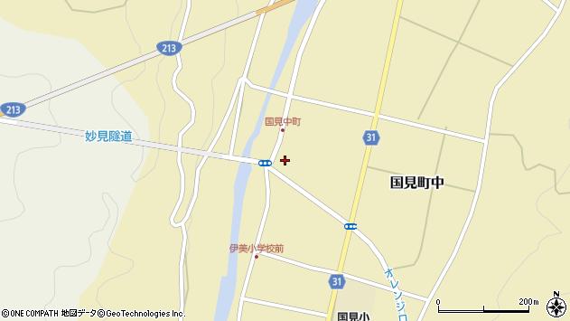 大分県国東市国見町中1038周辺の地図
