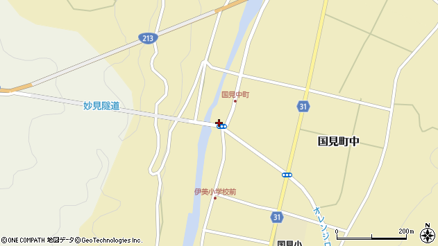 大分県国東市国見町中1033周辺の地図