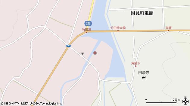 大分県国東市国見町竹田津3614周辺の地図