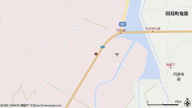 大分県国東市国見町竹田津3580周辺の地図