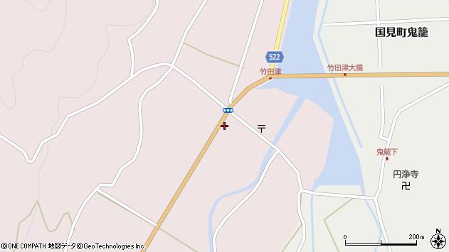 大分県国東市国見町竹田津3583周辺の地図