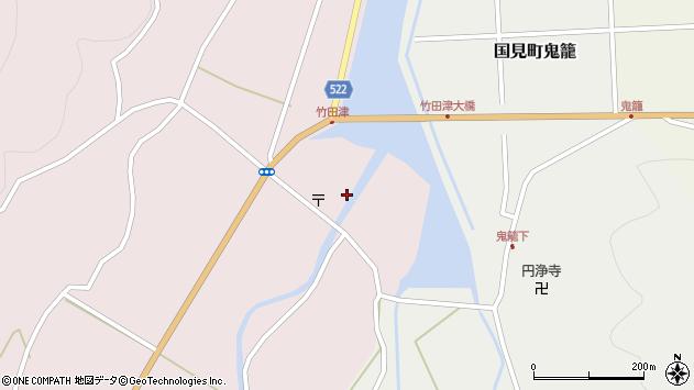 大分県国東市国見町竹田津3620周辺の地図