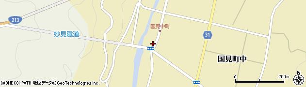 大分県国東市国見町中1043周辺の地図