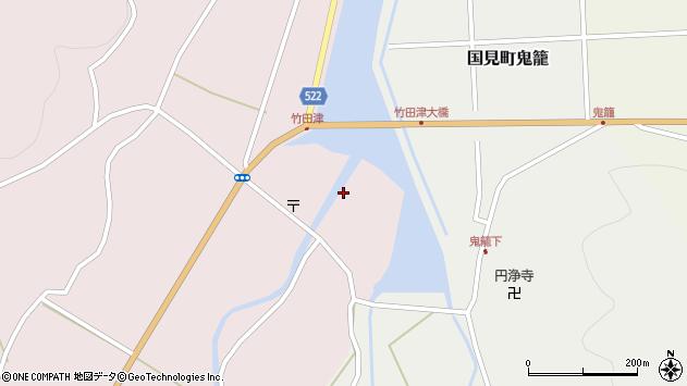 大分県国東市国見町竹田津3609周辺の地図