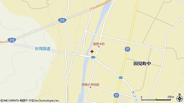 大分県国東市国見町中1046周辺の地図