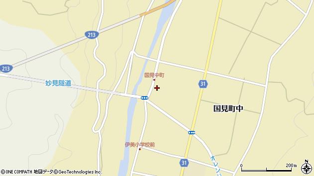 大分県国東市国見町中1053周辺の地図
