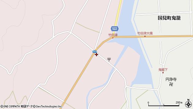 大分県国東市国見町竹田津3578周辺の地図