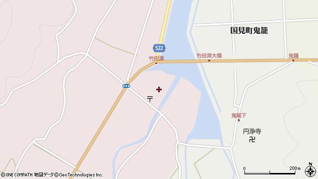 大分県国東市国見町竹田津3622周辺の地図