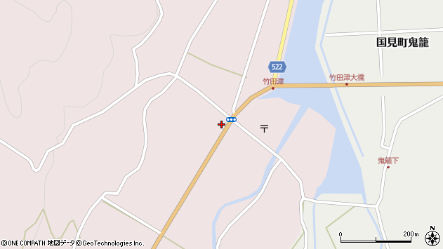 大分県国東市国見町竹田津3579周辺の地図