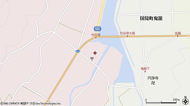 大分県国東市国見町竹田津3939周辺の地図