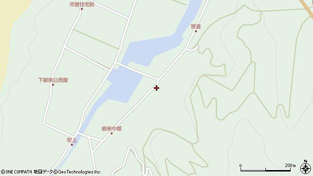 大分県国東市国見町櫛来3536周辺の地図