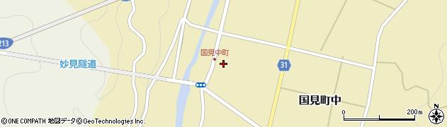 大分県国東市国見町中1056周辺の地図
