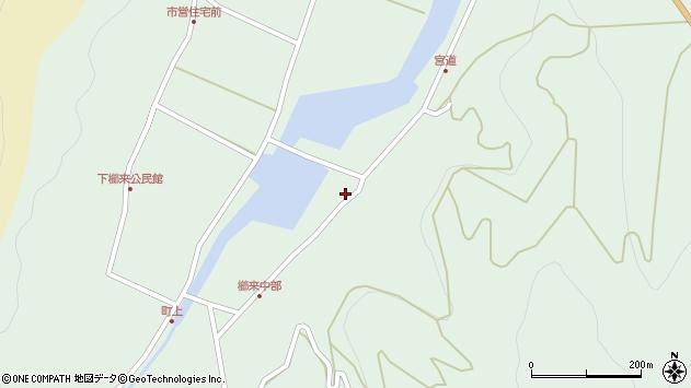 大分県国東市国見町櫛来3537周辺の地図
