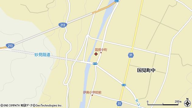 大分県国東市国見町中1047周辺の地図