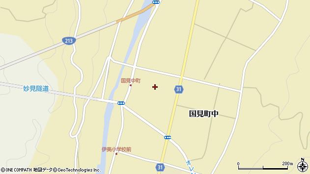 大分県国東市国見町中1115周辺の地図