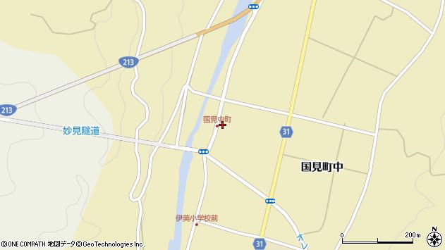 大分県国東市国見町中1057周辺の地図