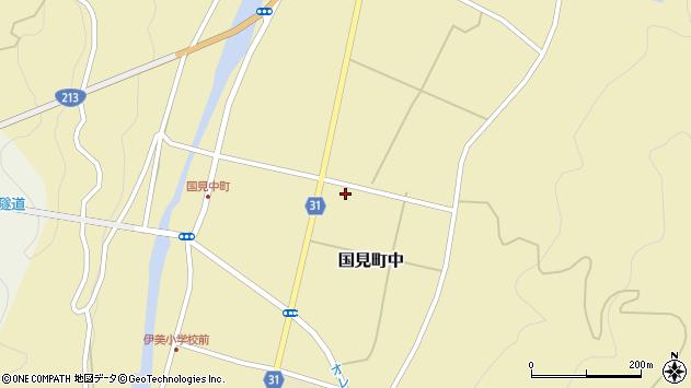 大分県国東市国見町中1139周辺の地図