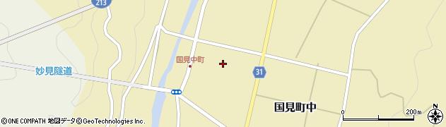 大分県国東市国見町中1116周辺の地図