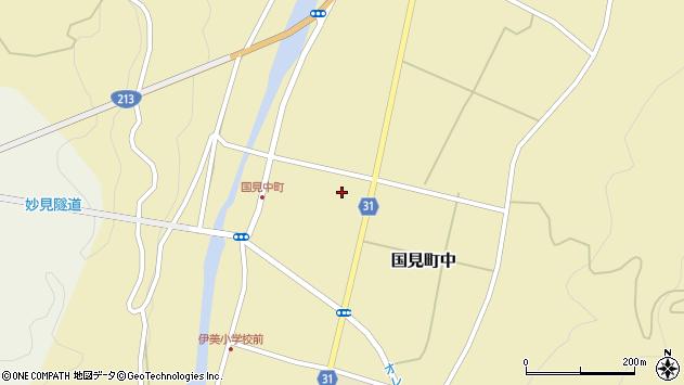 大分県国東市国見町中1113周辺の地図