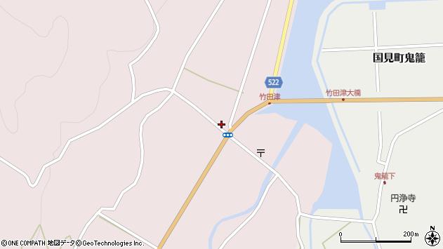 大分県国東市国見町竹田津3641周辺の地図
