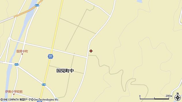 大分県国東市国見町中495周辺の地図