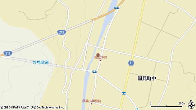 大分県国東市国見町中1062周辺の地図