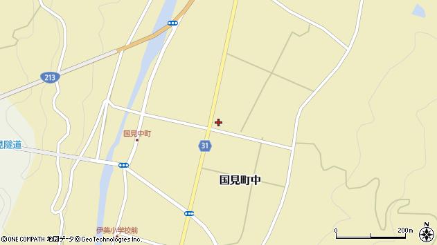 大分県国東市国見町中1145周辺の地図