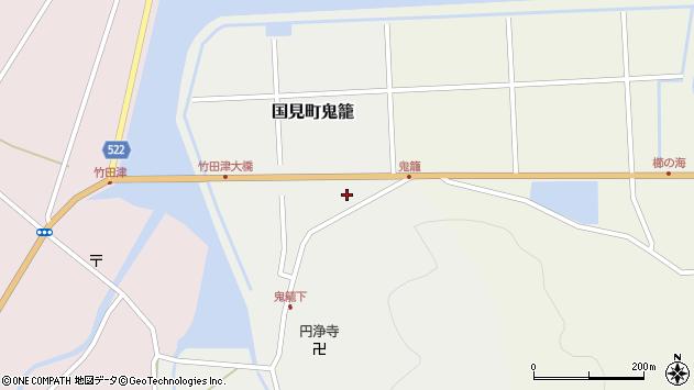 大分県国東市国見町鬼籠3266周辺の地図