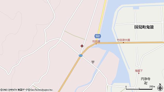 大分県国東市国見町竹田津3705周辺の地図